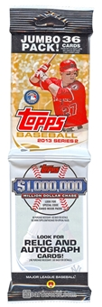 2013 Topps Series 2 Baseball Jumbo Rack Pack