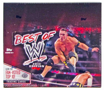 2013 Topps WWE Best Of Wrestling Hobby Box