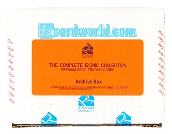 The Complete Six Million Dollar Man and Bionic Woman Premium Archive Box (Rittenhouse 2013)