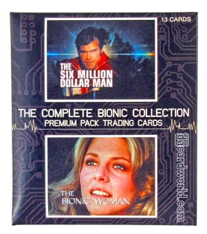 The Complete Six Million Dollar Man and Bionic Woman Premium Pack (Rittenhouse 2013)
