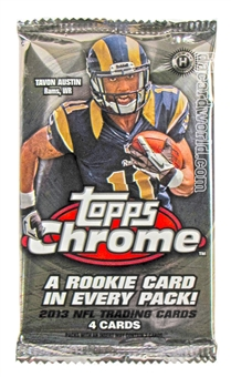 2013 Topps Chrome Football Hobby Pack