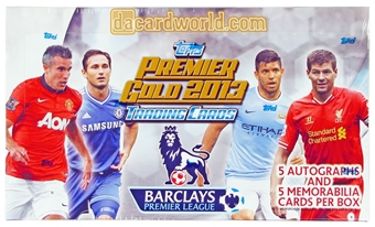 2013 Topps English Premier League Gold Soccer Hobby Box