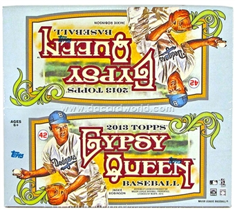 2013 Topps Gypsy Queen Baseball Retail 24-Pack Box