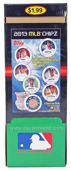 2013 Topps MLB Chipz Baseball Hobby Box