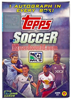 2013 Topps MLS Major League Soccer 8-Pack Box with One Auto !