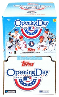 2013 Topps Opening Day Baseball Retail 48-Pack Box