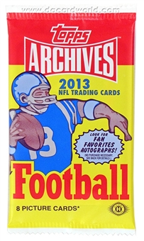 2013 Topps Archives Football Hobby Pack