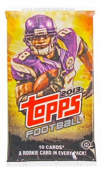 2013 Topps Football Hobby Pack
