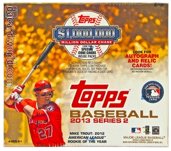 2013 Topps Series 2 Baseball Retail 24-Pack Box