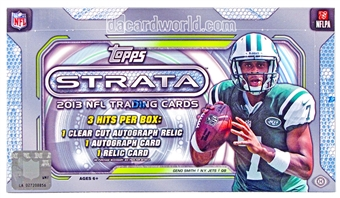 2013 Topps Strata Football Hobby Box