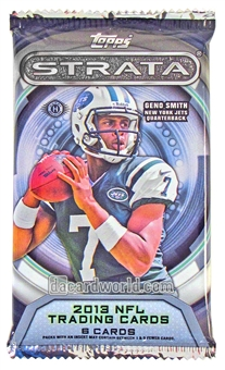 2013 Topps Strata Football Hobby Pack