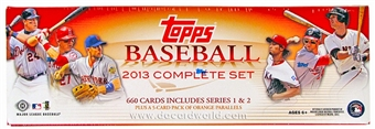 2013 Topps Factory Set Baseball Hobby (Box)