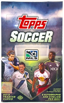2013 Topps MLS Major League Soccer Hobby Box