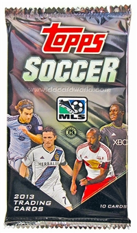 2013 Topps MLS Major League Soccer Hobby Pack