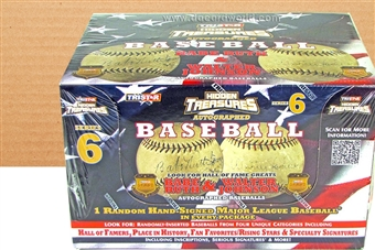 2013 TriStar Hidden Treasures Series 6 Baseball Hobby 2-Box Case