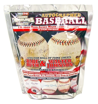 2013 TriStar Hidden Treasures Series 6 Baseball Hobby Pack