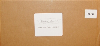 2013 TriStar SignaCuts Honors Baseball Hobby 24-Box Case