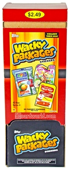 Wacky Packages Series 11 Trading Cards Stickers Retail 48-Pack Box (Topps 2013)