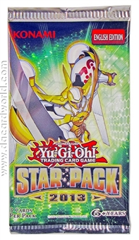 Konami Yu-Gi-Oh Star Pack 2013 Unlimited Edition Booster Pack