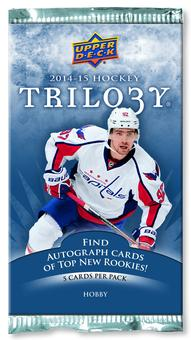 2014/15 Upper Deck Trilogy Hockey Hobby Pack