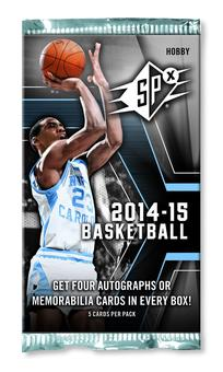2014/15 Upper Deck SPx Basketball Hobby Pack