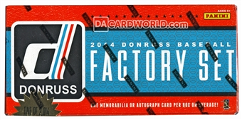 2014 Panini Donruss Factory Set Baseball Hobby (Box)