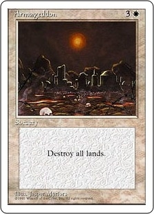 Magic the Gathering 4th Edition Single Armageddon - NEAR MINT (NM)