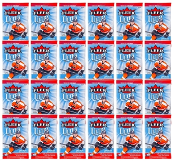 2014/15 Upper Deck Fleer Ultra Hockey Retail Pack (Lot of 24)