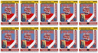 2014/15 Upper Deck O-Pee-Chee Hockey 14-Pack Box (Lot of 10)