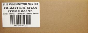 2014/15 Panini Excalibur Basketball Blaster 20-Box Case (20 Autograph or Memorabilia Cards Per Case!)