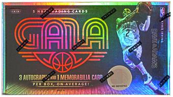 2014/15 Panini Gala Basketball Hobby Box