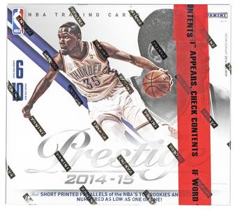 2014/15 Panini Prestige Plus Basketball 10-Box Lot