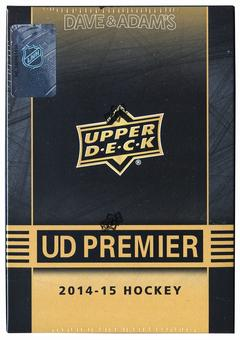 2014/15 Upper Deck Premier Hockey Hobby Box (Tin)