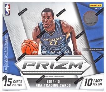 2014/15 Panini Prizm Basketball Jumbo Box