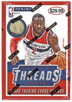 2014/15 Panini Threads Basketball Blaster Box (20 Cards)