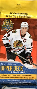 2014/15 Upper Deck Series 1 Hockey Fat Pack