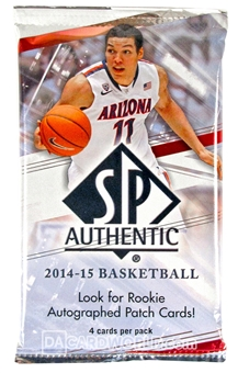 2014/15 Upper Deck SP Authentic Basketball Hobby Pack