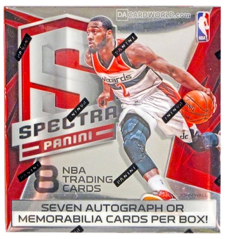 2014/15 Panini Spectra Basketball Hobby Box