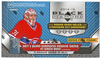2014/15 Upper Deck Black Diamond Hockey Hobby Box