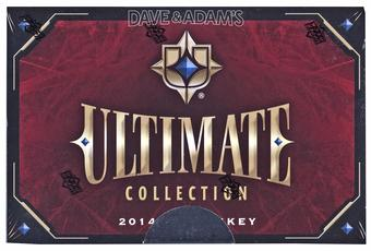 2014/15 UD Ultimate Collection Hockey Hobby 10-Box Case - DACW Live @ National 30 Spot Random Team Break