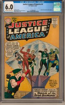 Justice League of America #4 CGC 6.0 (OW-W) *1419082005*