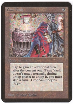Magic the Gathering Alpha Single Time Vault - NEAR MINT (NM)