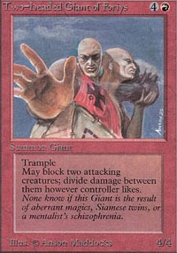 Magic the Gathering Alpha Single Two-Headed Giant of Foriys - NEAR MINT (NM)