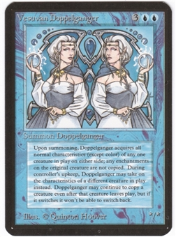 Magic the Gathering Alpha Single Vesuvan Doppelganger - NEAR MINT (NM)