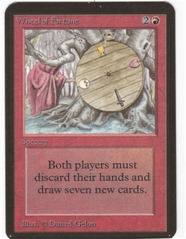 Magic the Gathering Alpha Single Wheel of Fortune - NEAR MINT (NM)
