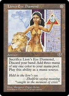 Magic the Gathering Mirage Single Lion's Eye Diamond - NEAR MINT (NM)