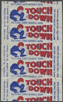 1948 Bowman Football 5 Cent Wrapper