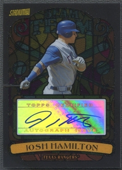 2008 Stadium Club #JH Josh Hamilton Beam Team Auto