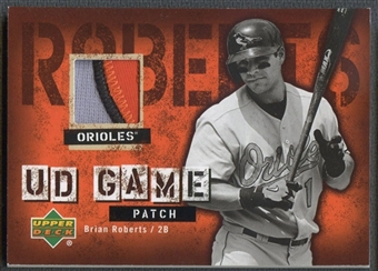 2006 Upper Deck #BR Brian Roberts UD Game Patch