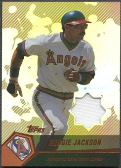 2004 Topps Clubhouse #RJ Reggie Jackson Copper Relics Jersey #30/99